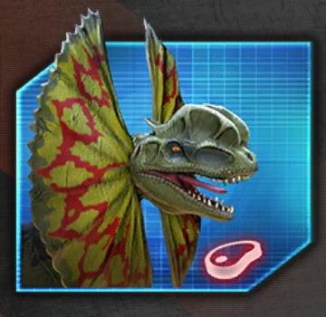 Dilophosaurus Icon