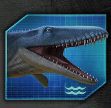 Mosasaurus Icon